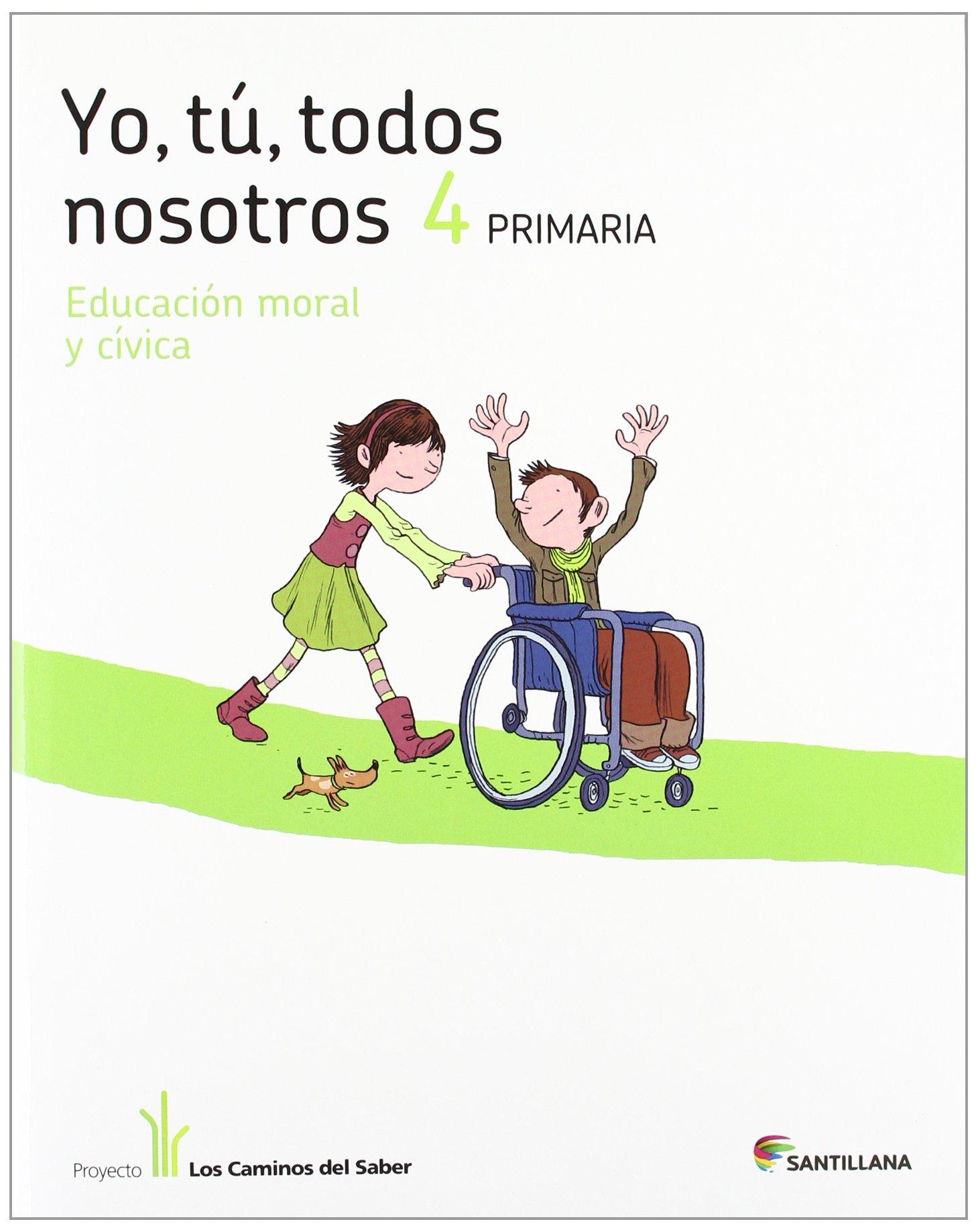 YO TU TODOS NOSOTROS EDUCACION EN VALORES 4 PRIMARIA ...