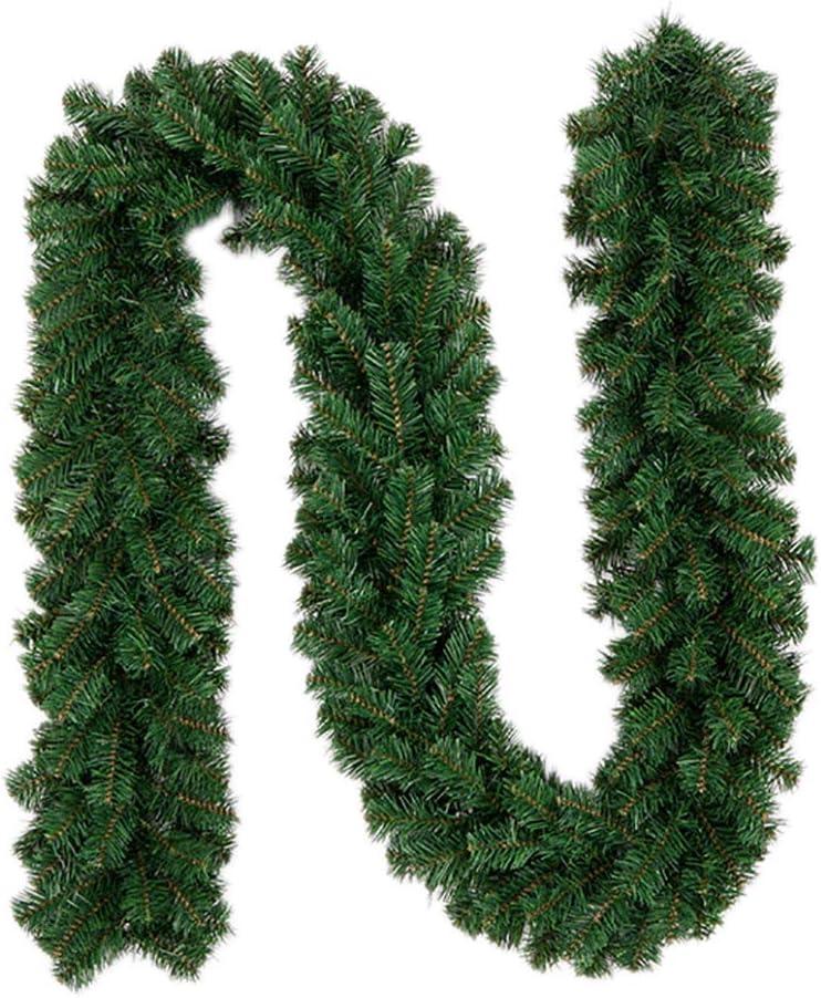 Accessoires de Fleurs pour Couronne de No/ël 270 cm Rotin de No/ël Sumshy Bushy Guirlande de Sapin Artificiel d/écorative d/écoration de Jardin pour Les Maison Escaliers de Porte Fen/être 160 Branches