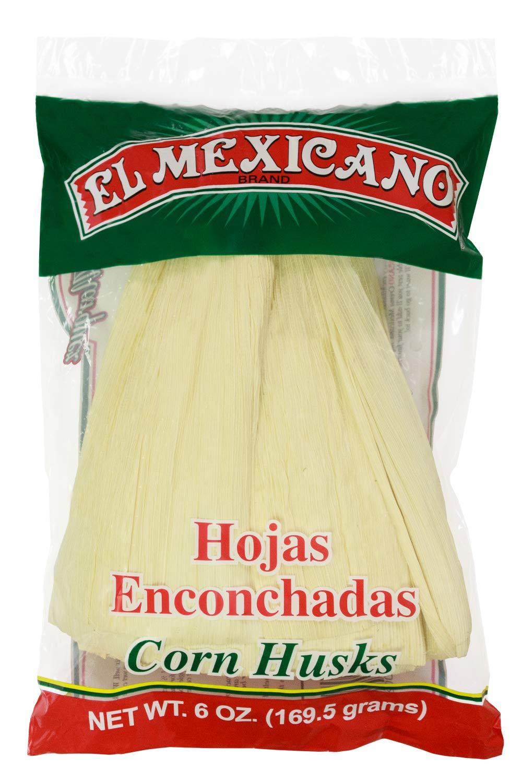 El Mexican Corn Husks 6oz (Hojas Para Tamal)