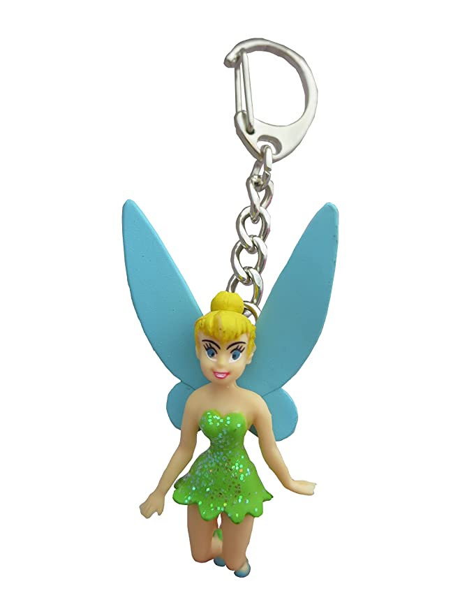 Amazon.com: Disney Tinker Bell PVC Figural clave Anillo ...