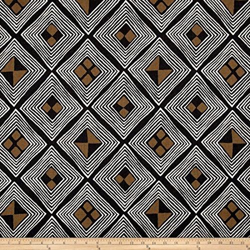 Dwell Studio 0547925 Mali Kuba Ink Fabric by The Yard,