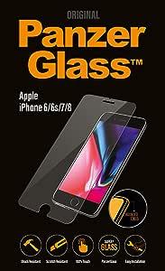 شاشة حماية زجاجية لهاتف ايفون 7 و 8 من بانزر جلاس