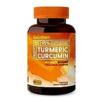 Deals on BioEmblem Turmeric Curcumin Supplement with BioPerine