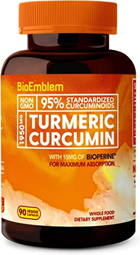 BioEmblem Turmeric Curcumin Supplement