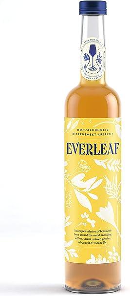 Everleaf - Aperitivo agridulce sin alcohol, infundido con botánicos, 50 cl