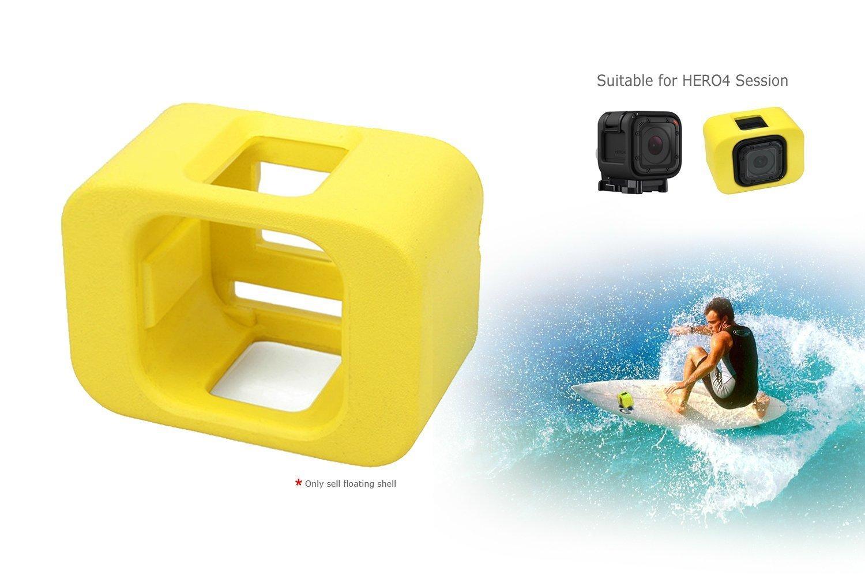 Buceo flotador Carcasa para GoPro 4 Hero Session Sport de accesorios de cámara, ideal para buceo, navegar, wakeboard o otras actividades en el agua ...