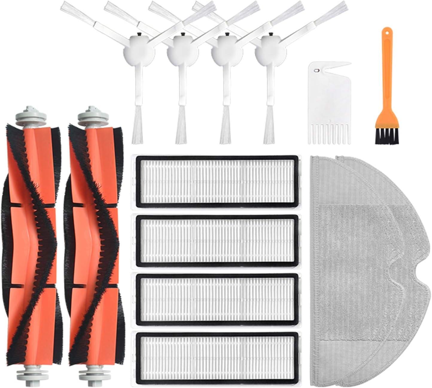 Repuesto de cepillo lateral principal de vacío cepillo rodillo cepillo cepillo trapo para Xiaomi Mijia 1C barrido robot aspirador piezas