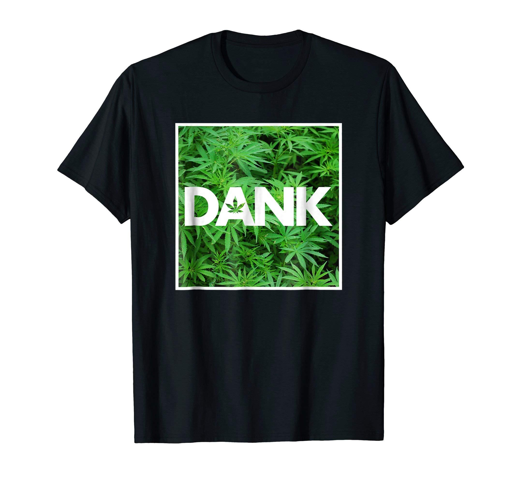 Dank Marijuana Cannabis Weed Pot Leaves T-Shirt