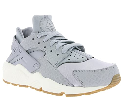 c6dc777a31de NIKE Wmns Air Huarache Run Premium Women Lifestyle Sneakers New Wolf Grey -  8.5  Buy Online at Low Prices in India - Amazon.in