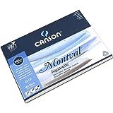 Canson - 200807317 - Montval - Bloc Papier Aquarelle - Blanc Naturel