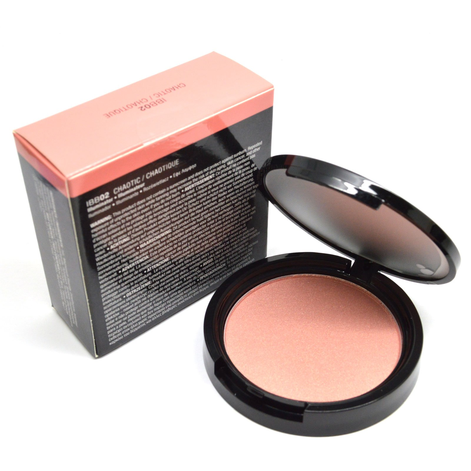 Women Cosmetic Illuminator Face and Body Bronzer 0.33oz / 9.5g Powder BeutiYo ! + Free Earring (IBB02 CHAOTIC)