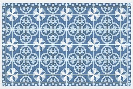 Homeplace. EU Sets de Table \'Lisbonne Bleu pour carrelage de ...