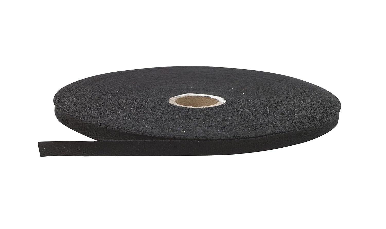 36 yd Black Pearl .25 Wide Twill Tape