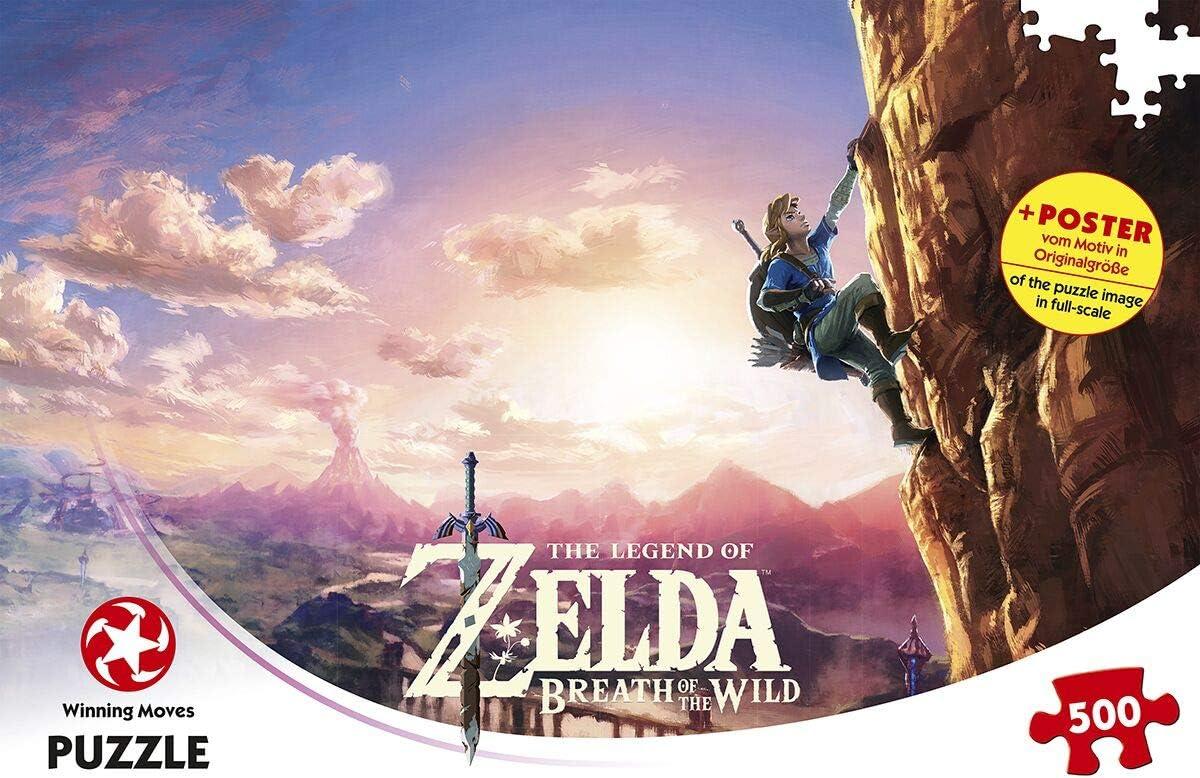 Winning Moves-Juego de Rompecabezas La Leyenda de Zelda Breath of The Wild, Color, Estándar (WIN11231): Amazon.es: Juguetes y juegos