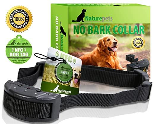No Bark Collar By Naturepets