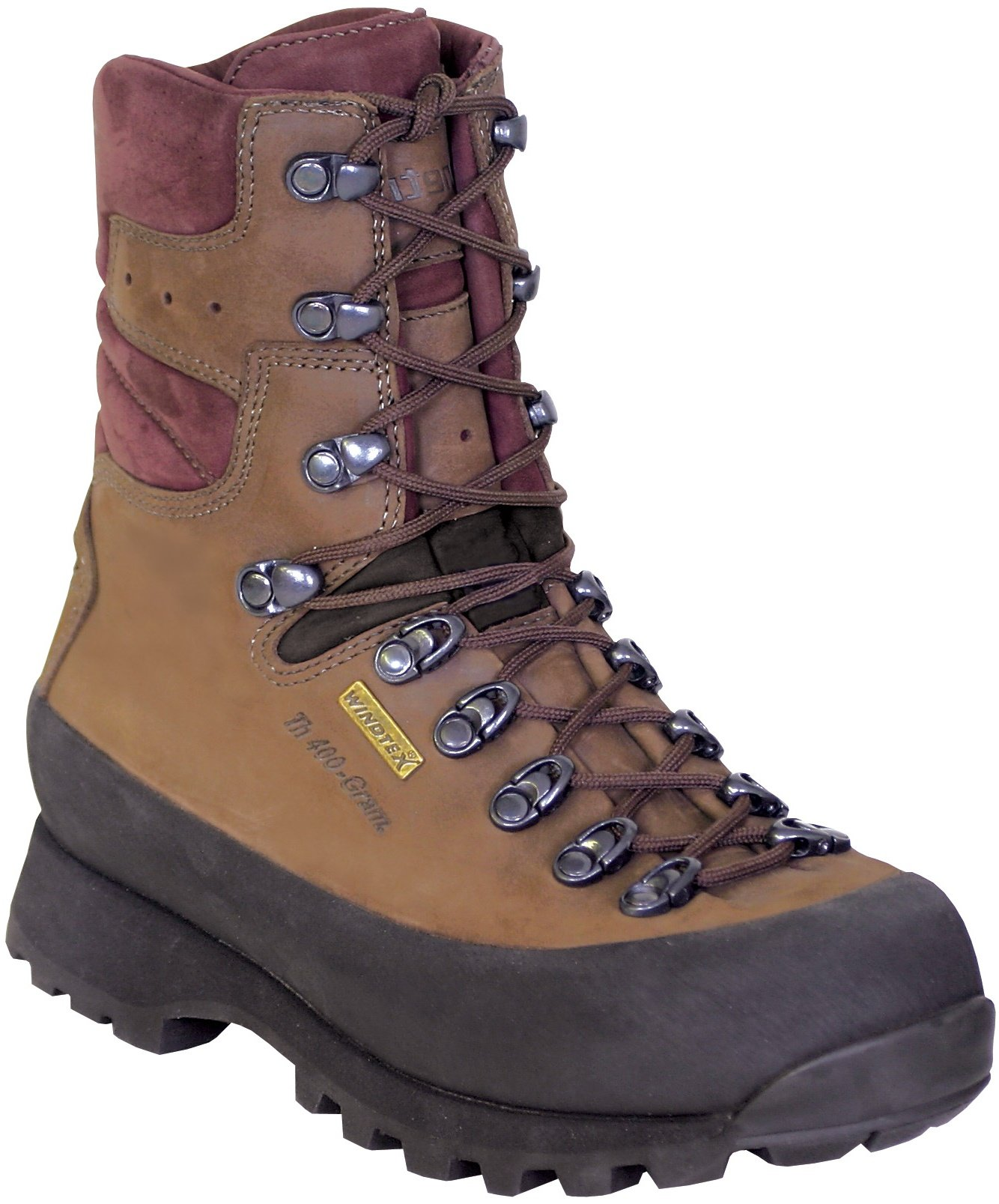 Kenetrek Women's Women's Mountain Extreme Insulated Hunting Boot,Brown,9 M US