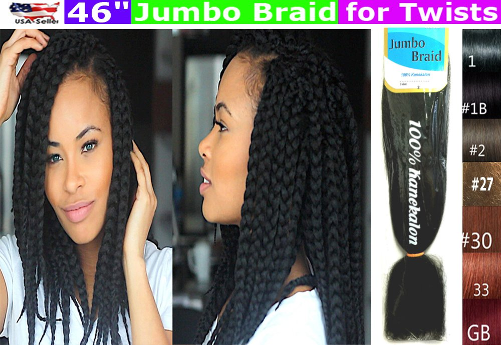 Amazon 100 Kanekalon Braiding Hair Jumbo Braiding Hair Kk