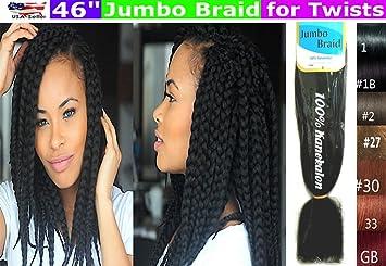 Amazon.com   100% Kanekalon Braiding Hair 04b26f856