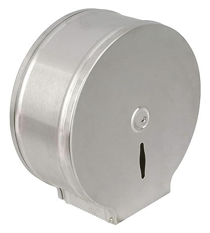 Dispensador de papel Jumbo Metal, Inox Brosse, 200 m