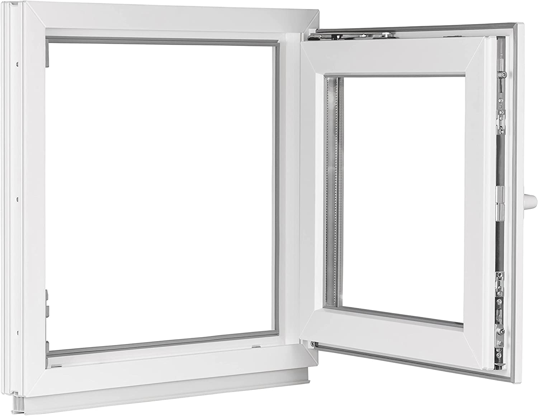 Dreh-Kipp BxH:60x105 cm DIN Rechts Premium Fenster Kellerfenster Kunststofffenster wei/ß ALLE GR/Ö/ßEN 3 fach Verglasung