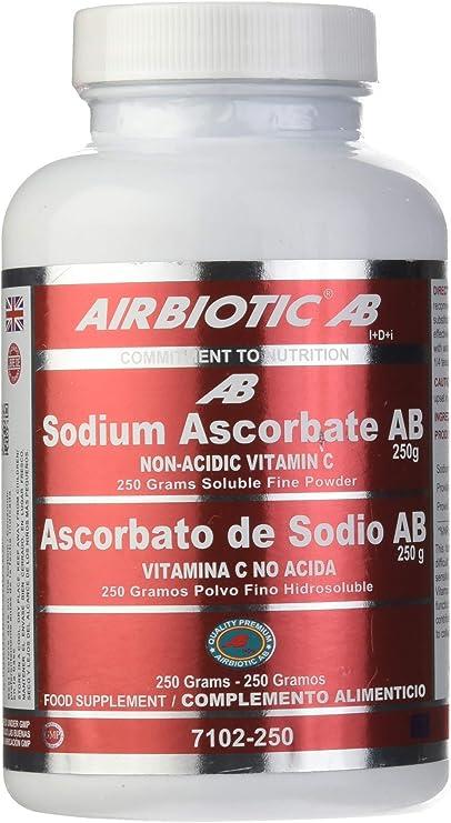 Airbiotic AB - Ascorbato de Sodio AB, 250 g: Amazon.es: Salud y ...