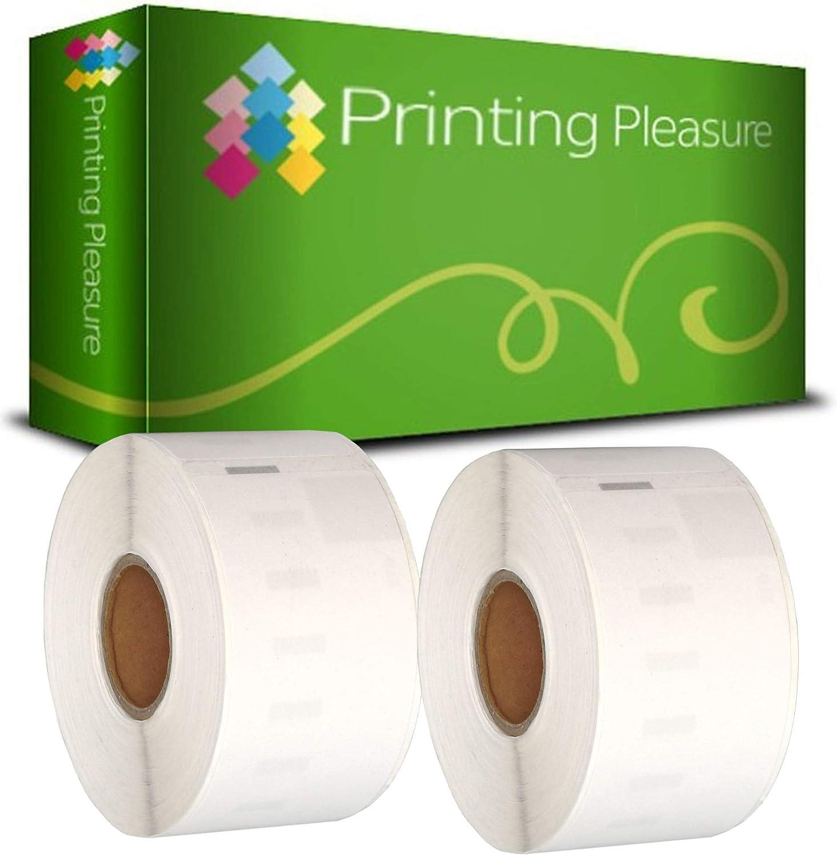 Printing Pleasure 20 x 99017 Rollen Etiketten kompatibel kompatibel kompatibel für Dymo LabelWriter & Seiko Etikettendrucker   50mm x 12mm   220 Stück   Hängeablageetiketten B0172AEDKI | Elegantes Aussehen  59c82f