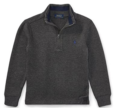 f48054f70237 Amazon.com  Polo Ralph Lauren Boys Half Zip Pullover Sweater  Clothing
