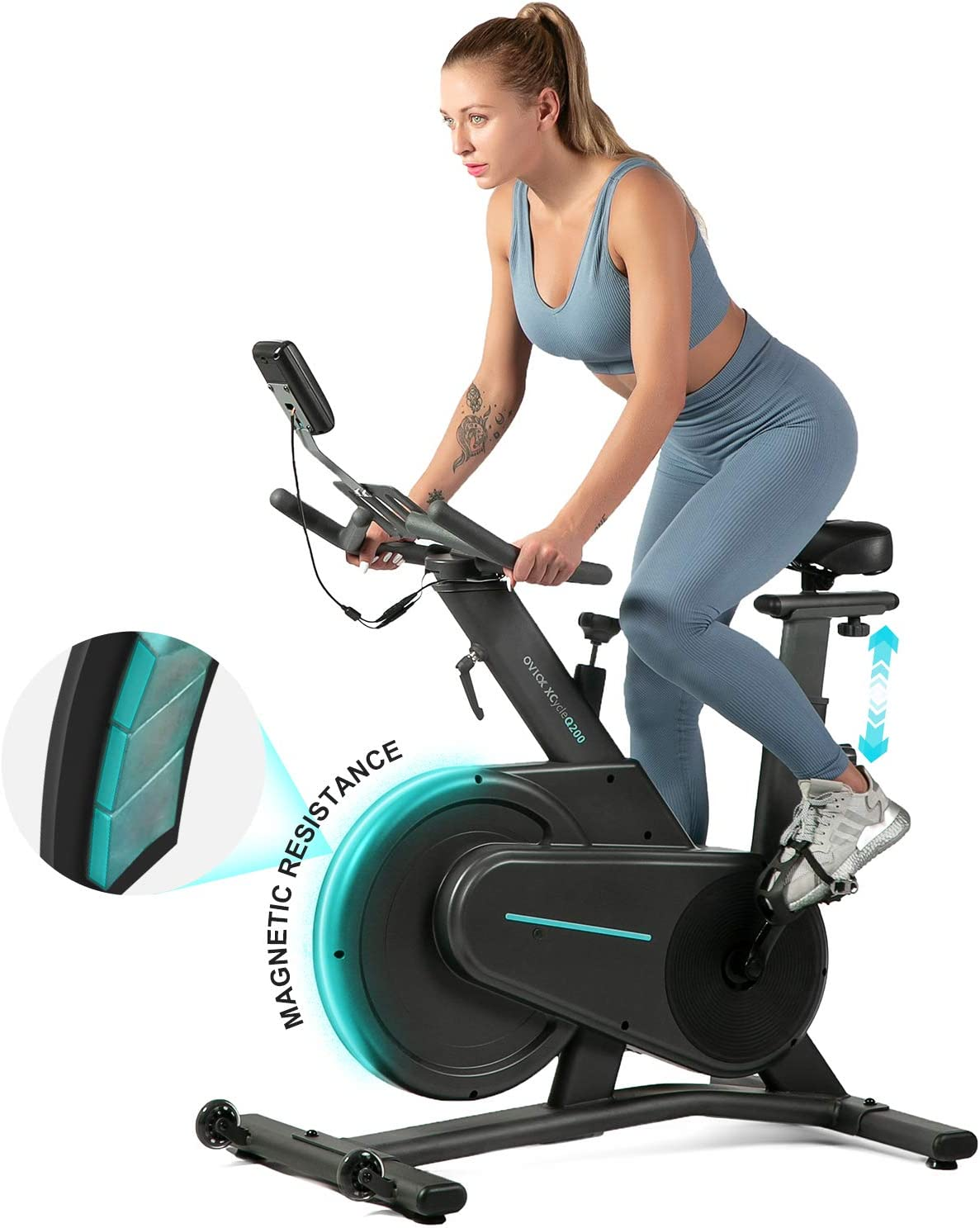 OVICX Magnetic Stationary Bike