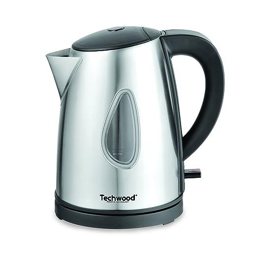 5 opinioni per Techwood TBI-1020- Bollitore in acciaio