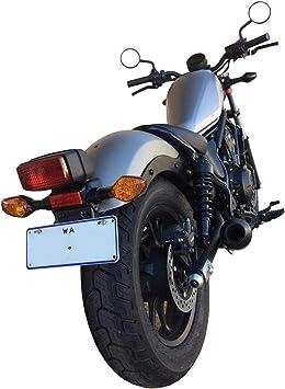 Musarri Auspuff Für Honda Rebel 500 Schwarz Auto