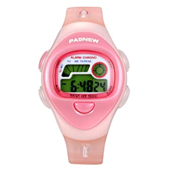 Lancardo Reloj Deportivo Digital Formato 12/24H Multifuncional de Cronógrafo Alarma con LED Luces Pulsera