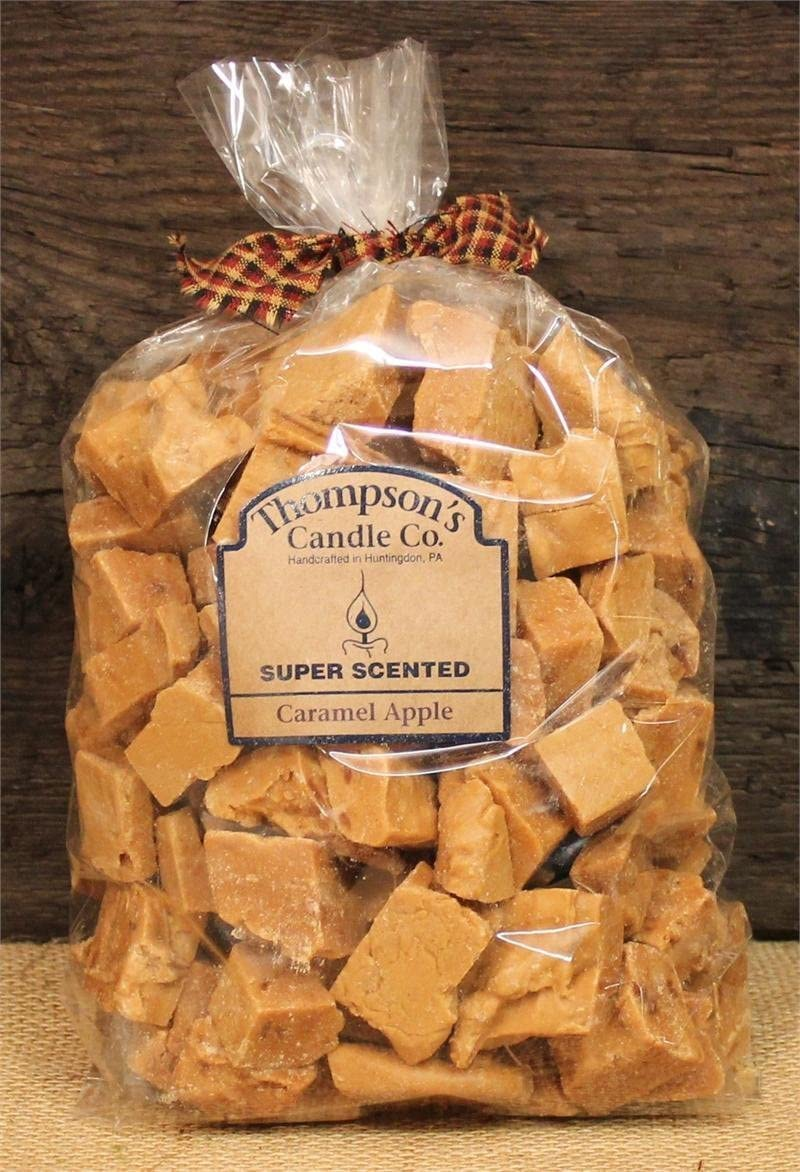 Thompson's Candle Co. Super Scented Crumbles/Wax Melts 32 oz Caramel Apple