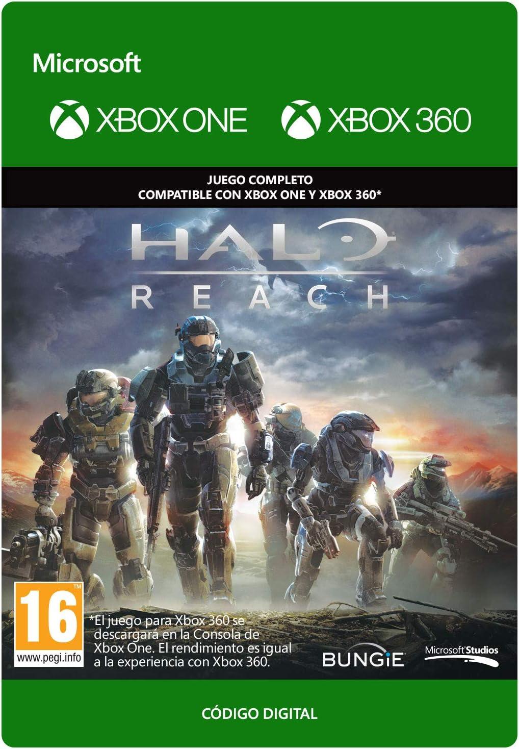 Halo: Reach | Xbox 360 - Plays on Xbox One - Código de descarga ...
