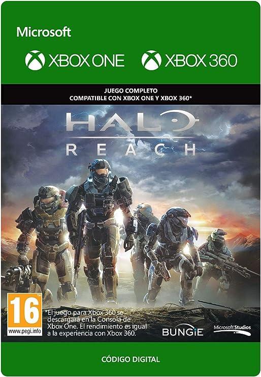 Halo: Reach | Xbox 360 - Plays on Xbox One - Código de descarga: Amazon.es: Videojuegos