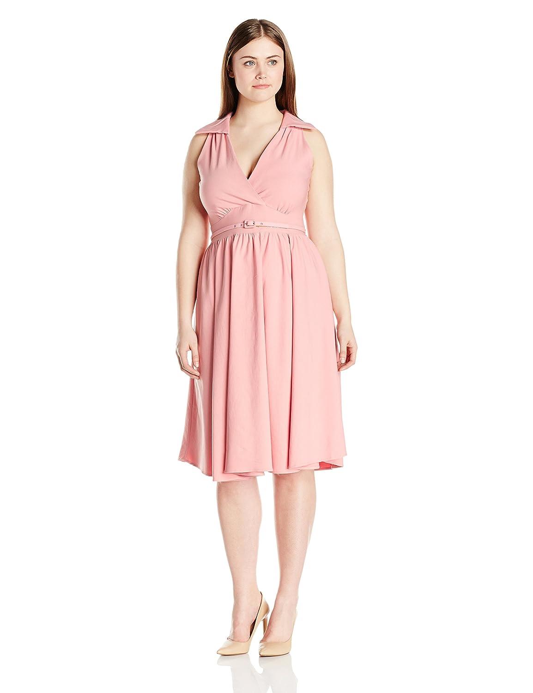 Amazon.com: Stop Staring! Women\'s Nyla Plus Size Swing Dress: Clothing