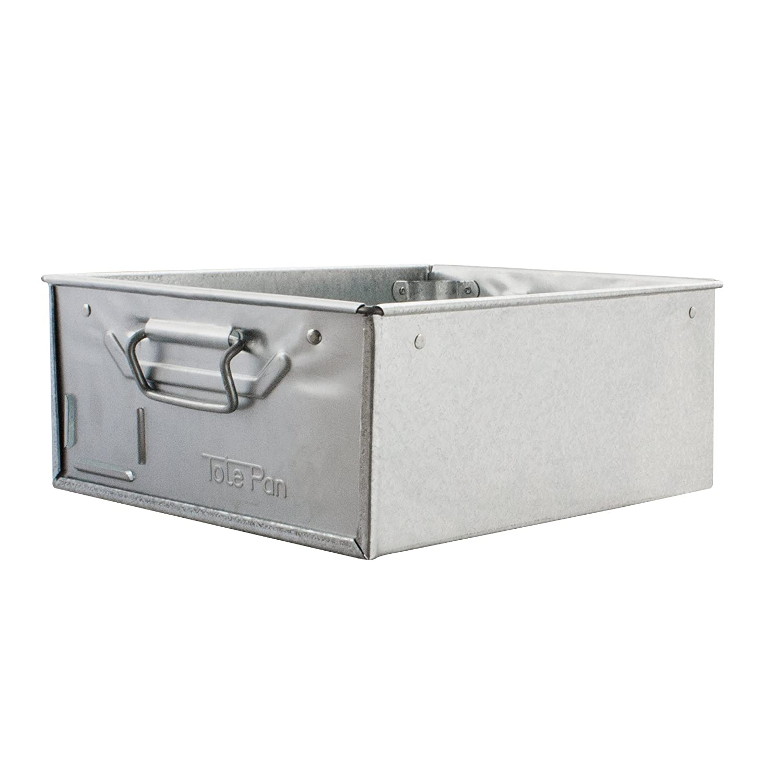 TOTE PAN(トートパン) Metal Tote Pans 455×305×150mm TP2 B00KL7ID74
