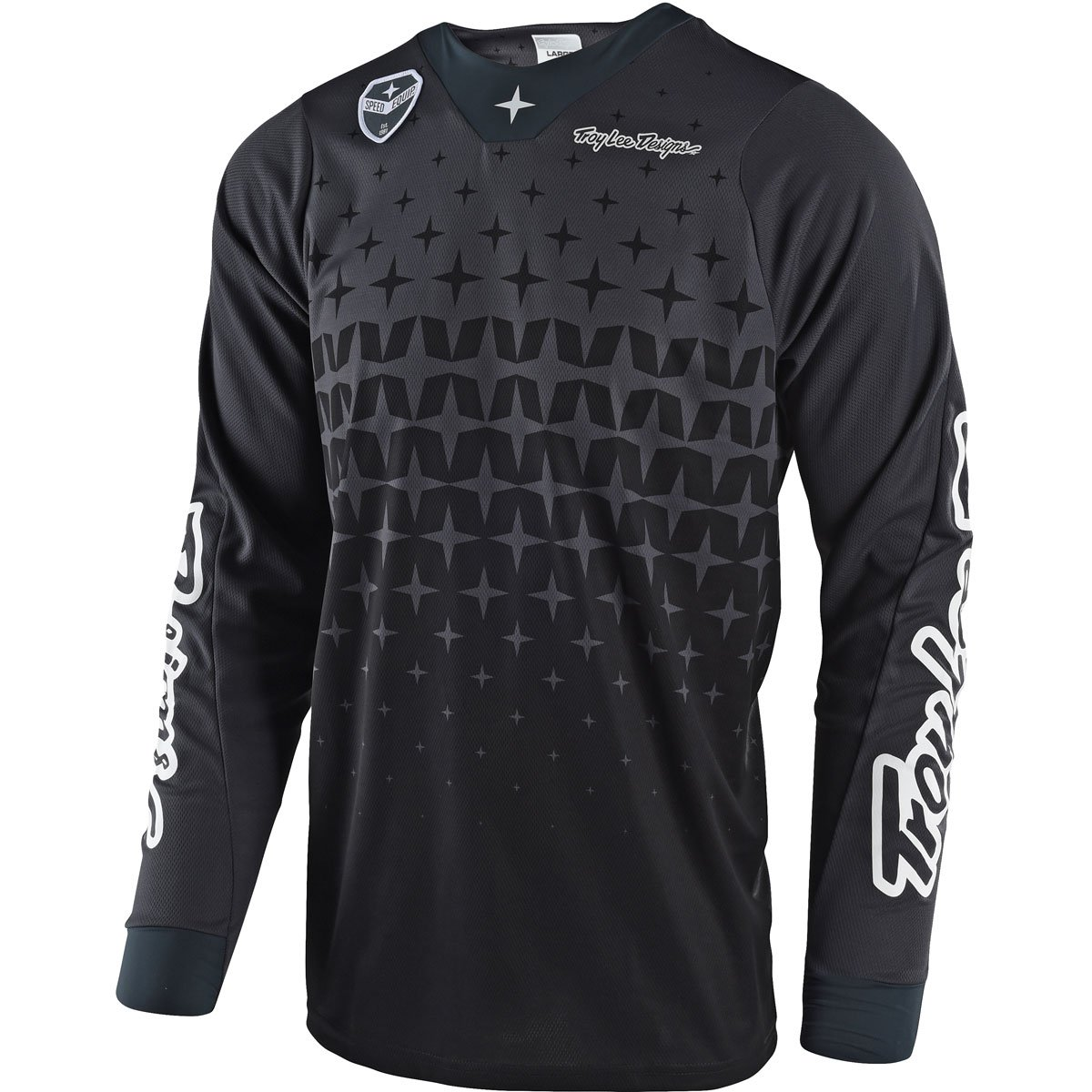 Troy Lee Designs SE Air Megaburst Men's Off-Road Motorcycle Jersey - Gray/Black / X-Large