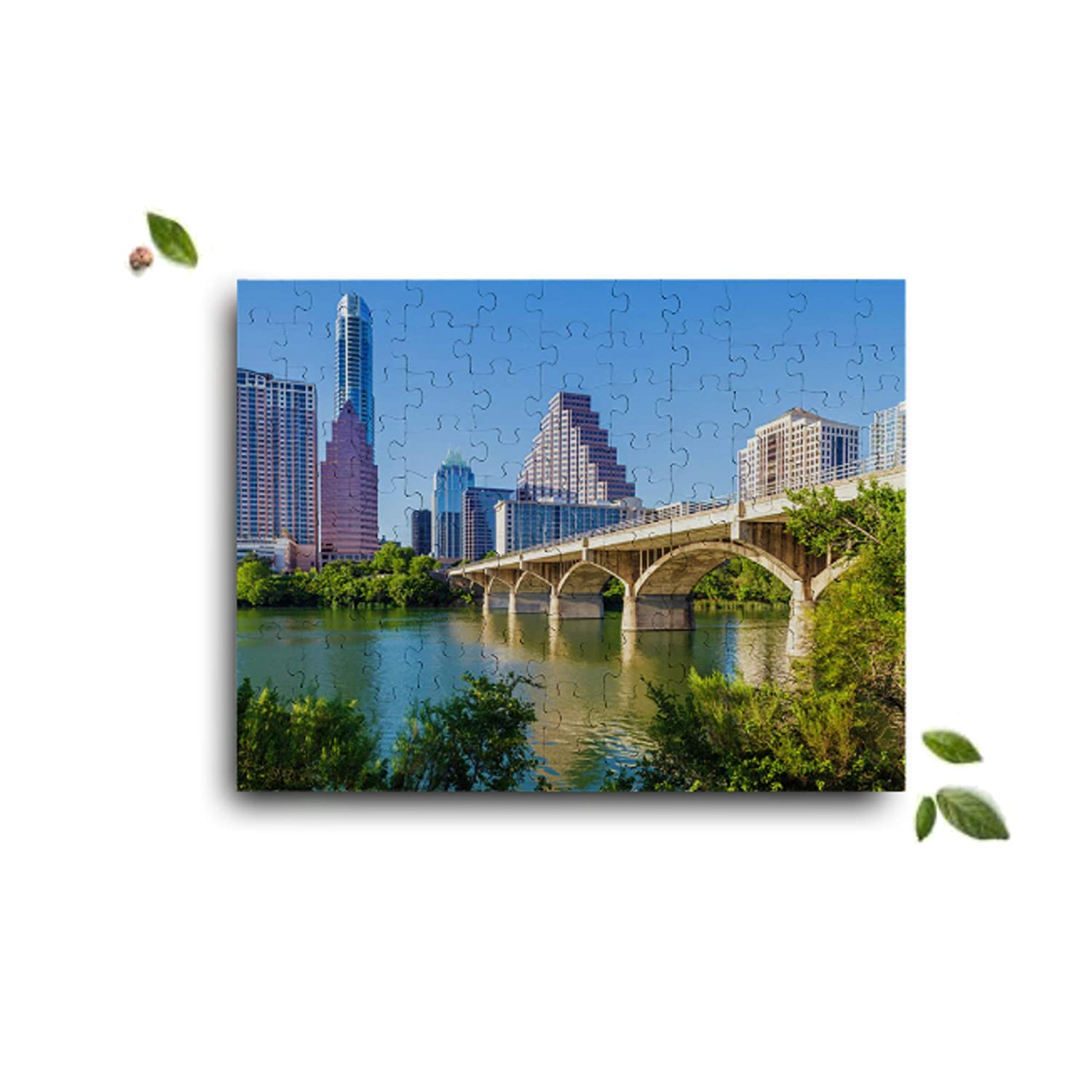 Custom City Puzzles Announcements Great Custom City Gift Anniversaries Monogrammed Photo Puzzle