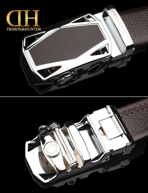 Demon/&Hunter Luxury Series Mens Belt Auto Buckle DH-ABL//No.1