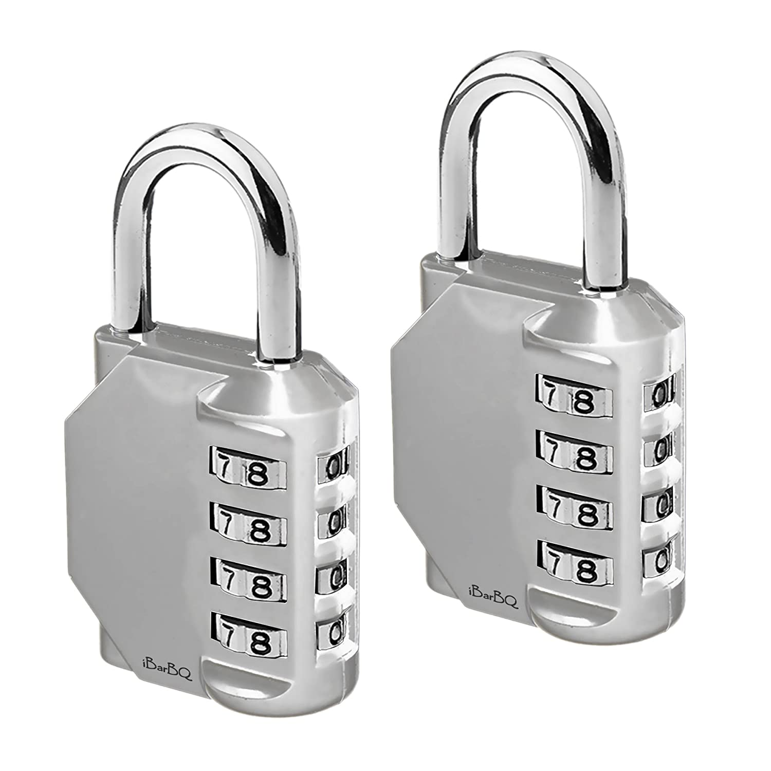 Outlet Ultra Durable 4 Digit Code Padlock Baggage Travel