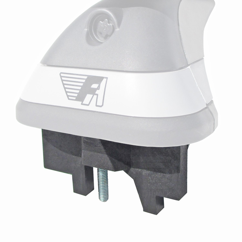 Fixed Point Roof Farad FA-IRON4-236a Steel Square Black Roof Bar Set