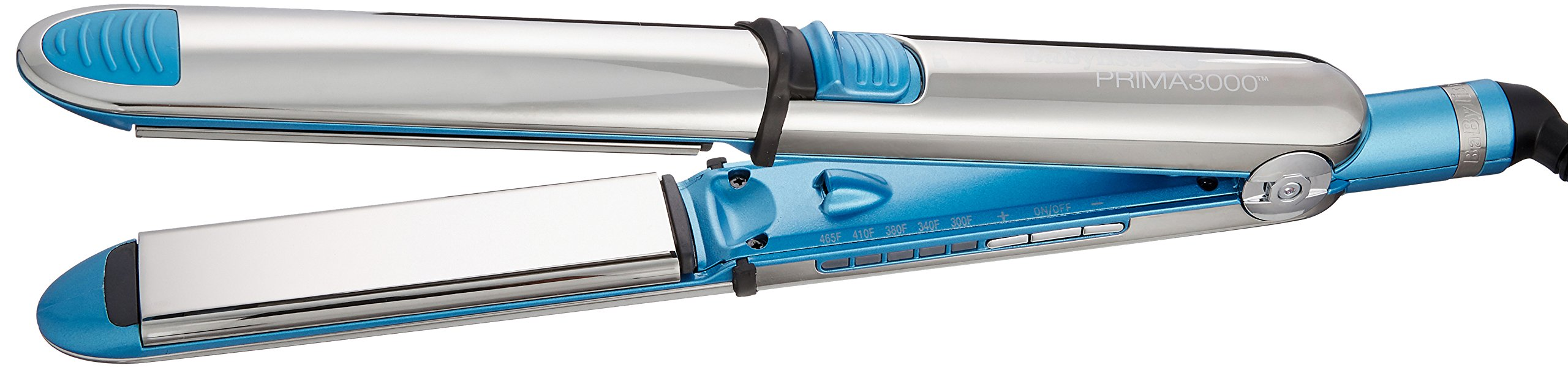 BaBylissPRO Nano Titanium Prima3000 Ionic Straightener, 1.25 Inch