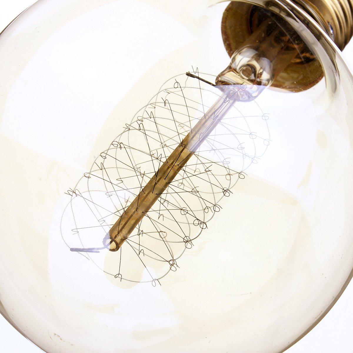 Kingso Vintage Edison Bulb 60w Incandescent Antique