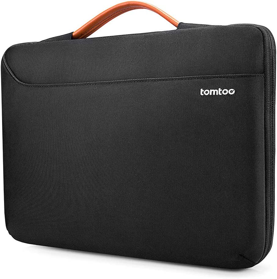 tomtoc 360 Protective Laptop Sleeve Fit 13.5 Inch New Microsoft Surface Book 3/2/1, Surface Laptop 3/2/1, Waterproof Notebook Case Bag for 13 Inch Asus Zenbook, HP Envy, Lenovo IdeaPad 900/700/300