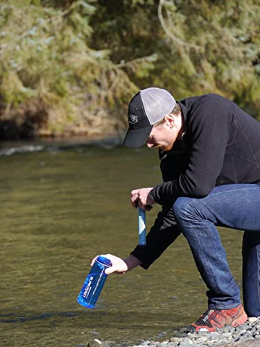 LifeStraw Go Water Bottle with Integrated 1000-Liter LifeStraw Filter