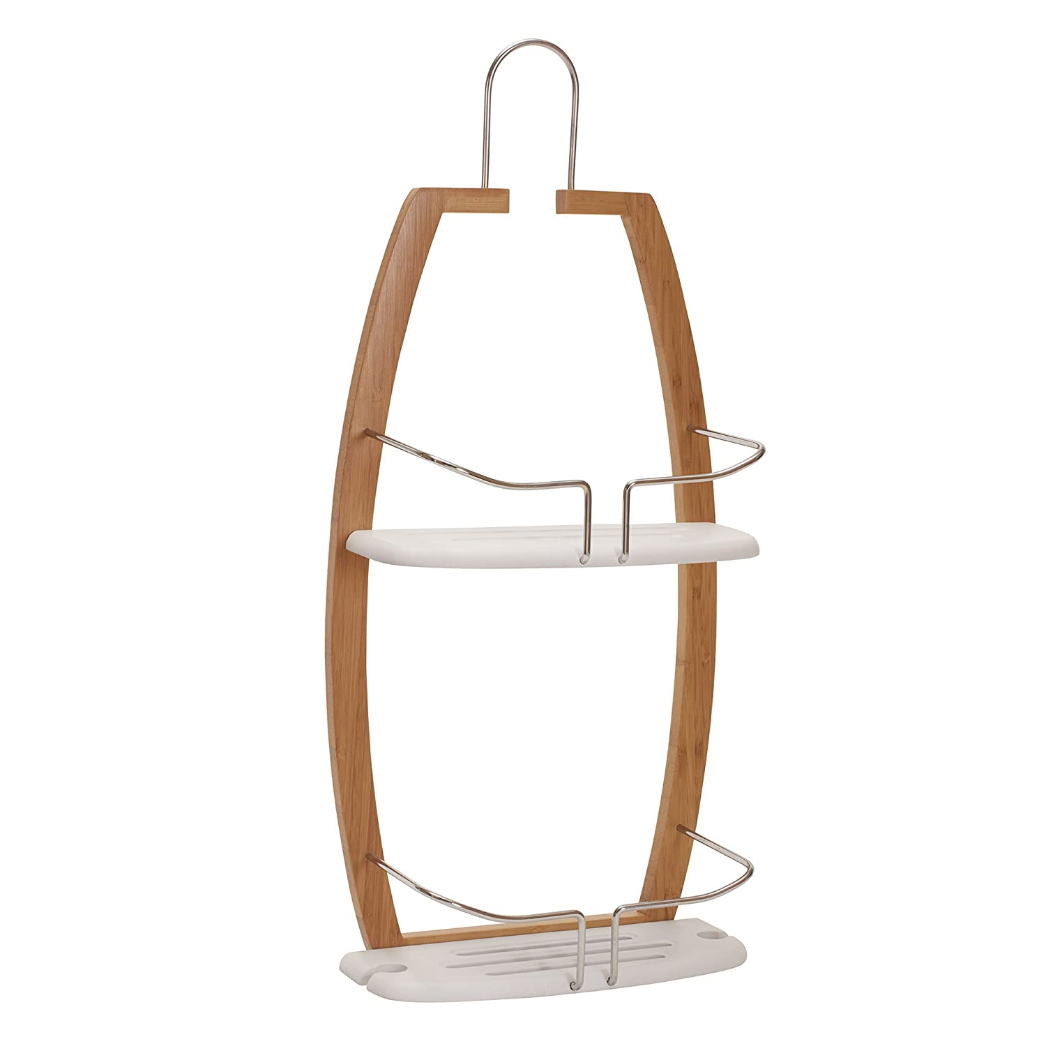 Household Essentials Elements Bamboo Shower Caddy 2445-1