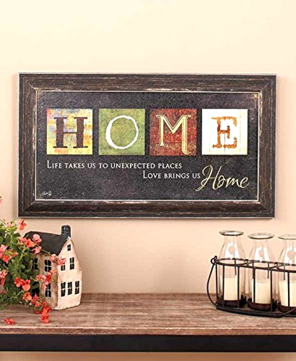 Amazoncom americana home decor - Amazon Com Premium Home Country Inspirational Marla Rae Hanging Wall Art By Besti Primitive Americana Decorative Plaque Rustic Style D Cor Sign With