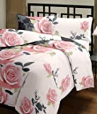 Renown Pretty Violet Floral Design Reversible Double Bed Quilt / AC Blanket / Dohar ( Pack Of 1 Pc )
