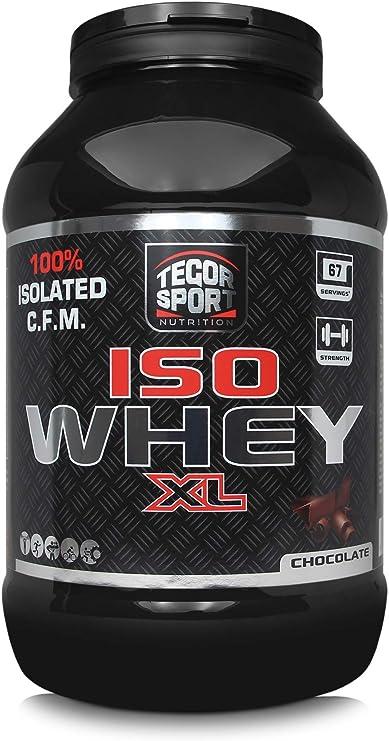 Tegor Sport Proteína Iso Whey en Polvo Sabor Chocolate - 2000 ...