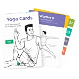 WorkoutLabs YOGA CARDS – Premium Visual Study, Class Sequencing & Practice Guide with Essential Poses, Breathing Exercises & Meditation · Plastic Flash Cards Deck with Sanskrit by